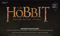 Hobbit manual cover