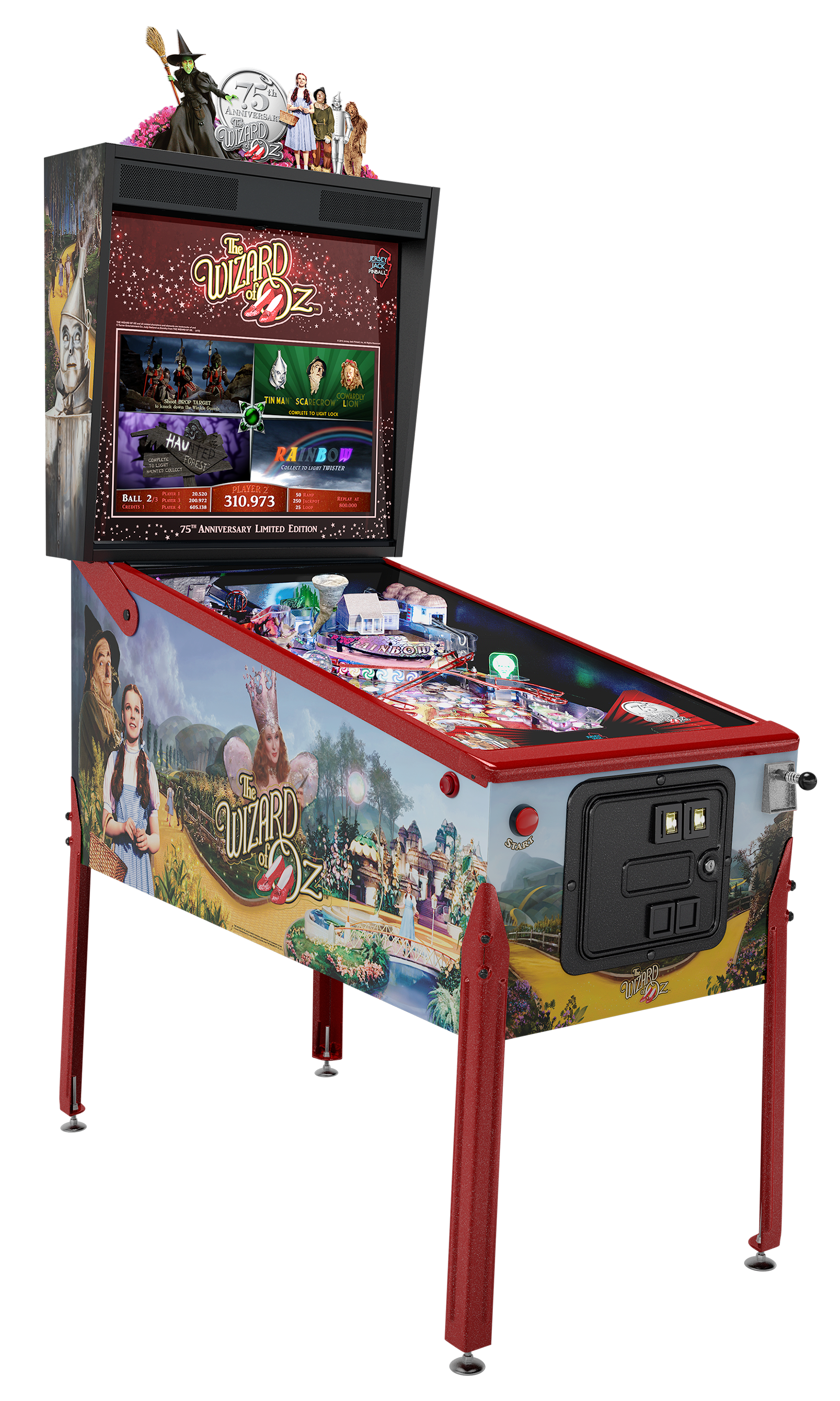 Wizard Of Oz Pinball 75th Anniversary Edition