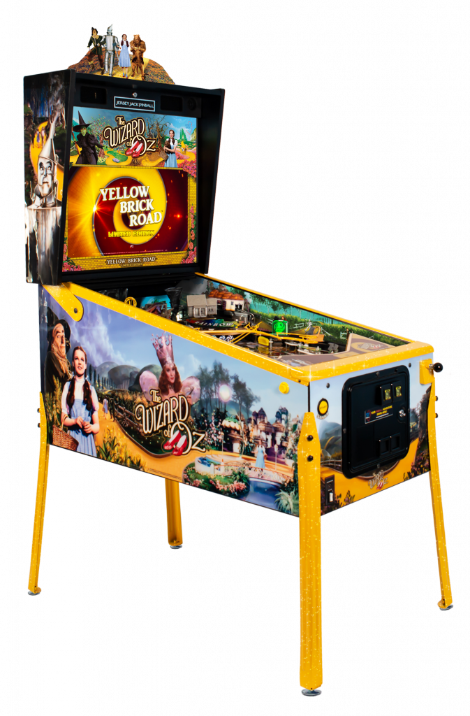 Wizard Of Oz Pinball - Yellow Brick Road Limited Edition