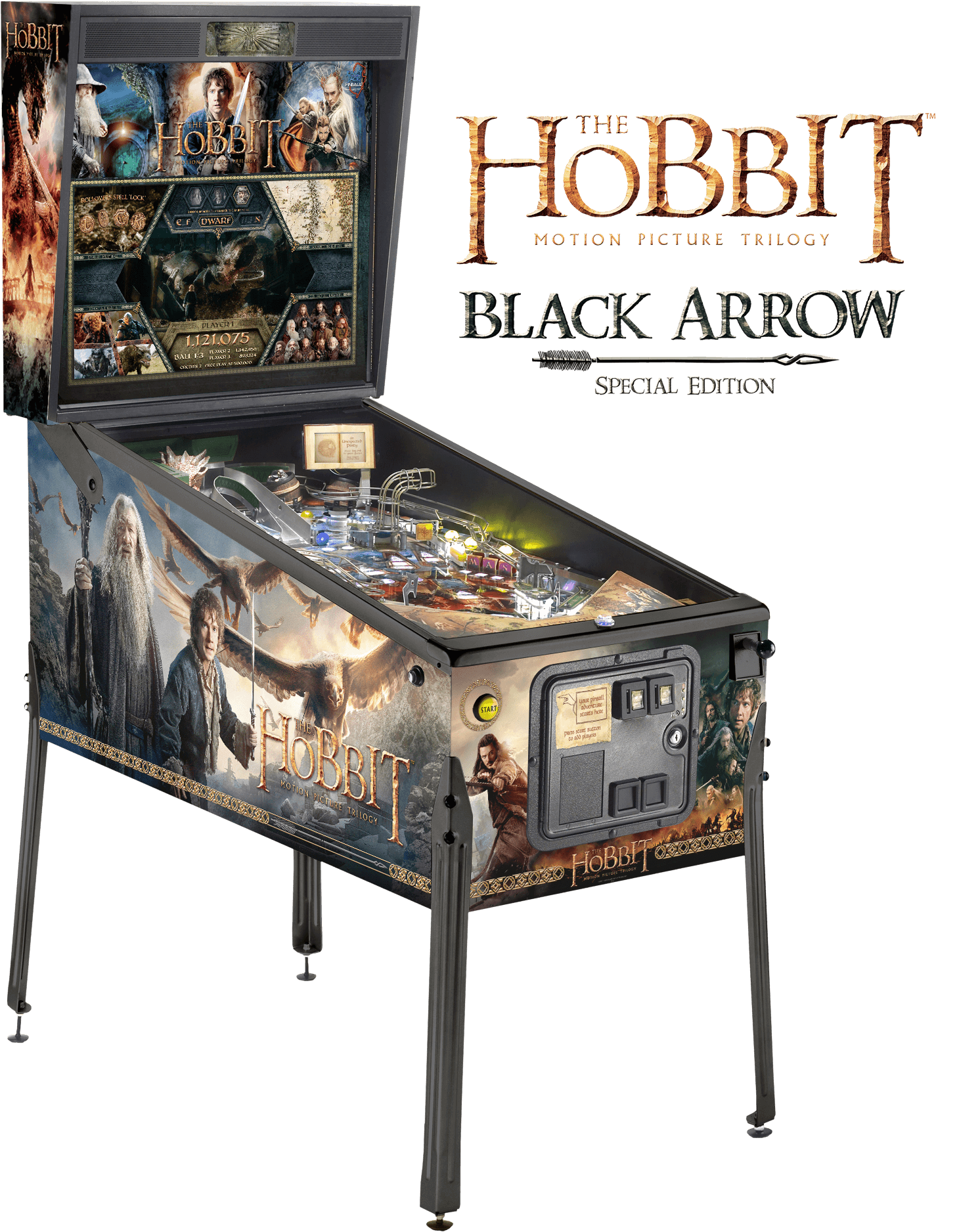 Black Arrow Edition, The Hobbit